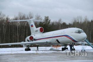 Міноборони РФ назвало причину падіння російського Ту-154 з ансамблем на борту