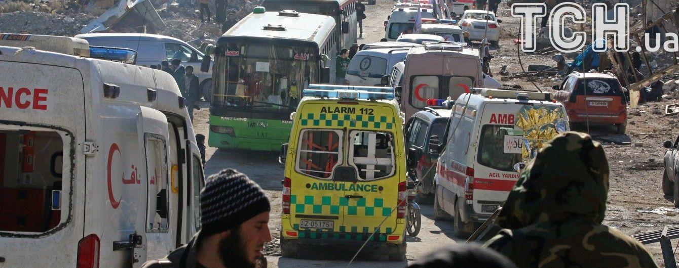 Евакуація з Алеппо та епідемія грипу в Україні. П'ять новин, які ви могли проспати