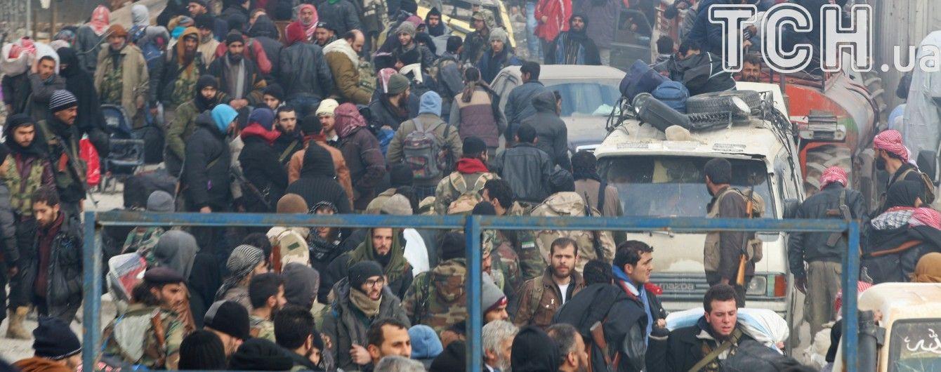В Алеппо досягли нової угоди щодо евакуації жителів