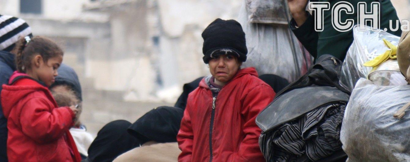 Сирійський уряд підтвердив нову евакуацію з Алеппо