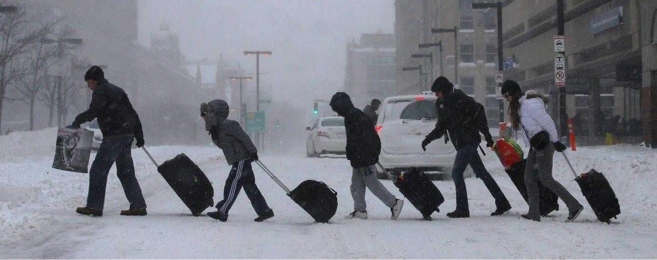 Два зимові циклони влаштували блекаут у США