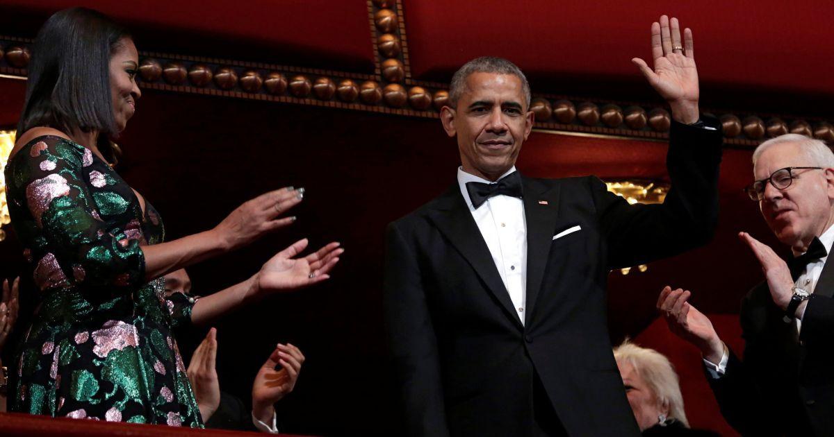 Президент США Барак Обама і перша леді Мішель Обама відвідують Центр Кеннеді у Вашингтоні, США. @ Reuters