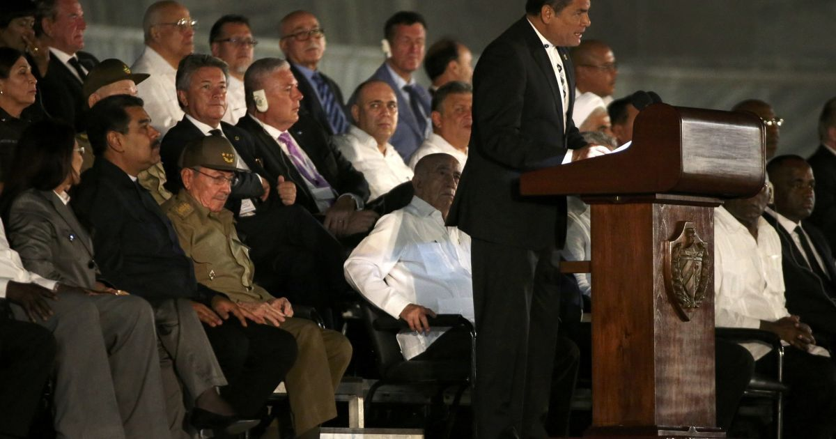 Президент Еквадору Корреа @ Reuters