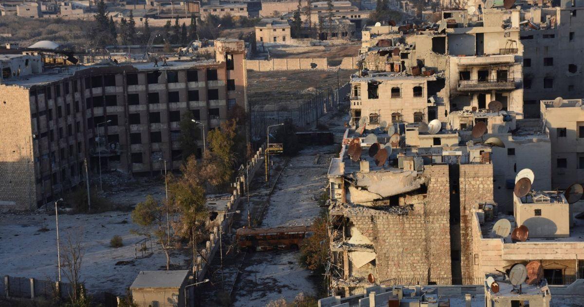 Сирійська армія повернула контроль над кварталом аль-Сахура в Алеппо.