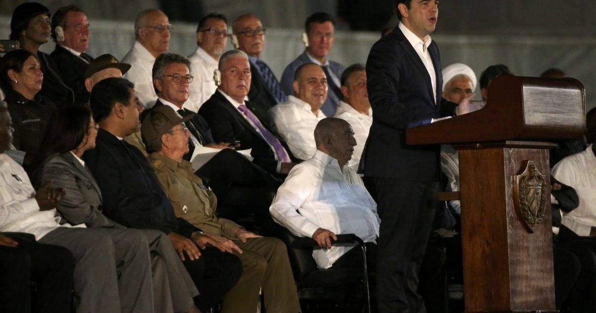 Прем'єр-міністр Греції Ципрас @ Reuters