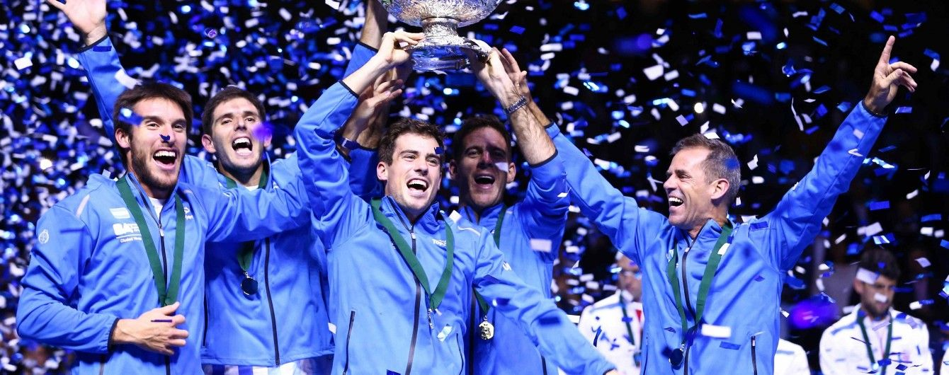 Аргентинські тенісисти вперше в історії виграли Кубок Девіса