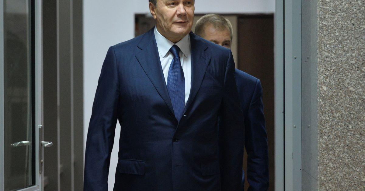Печерский суд отказал Януковичу в видеодопросе