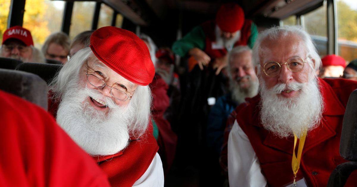 Школа Санта-Клаусов в штате Мичиган в США