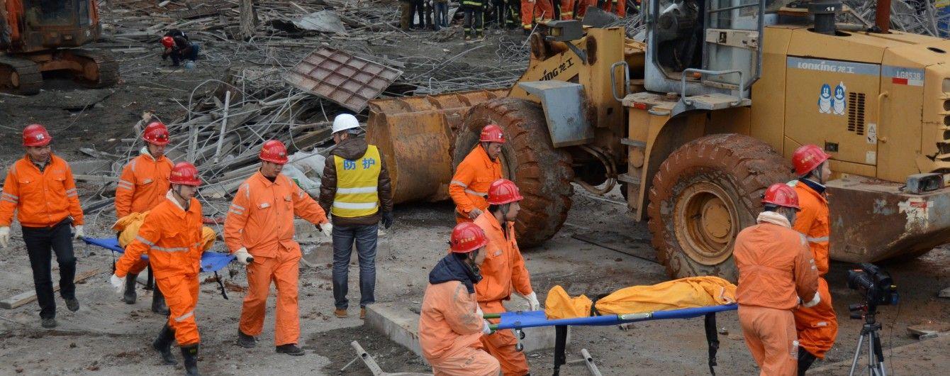 Кількість загиблих через аварію на будівництві електростанції у Китаї сягнула 74 людей - ЗМІ