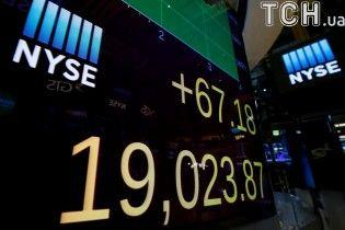 Американський індекс Dow Jones установив рекорд за всі роки існування