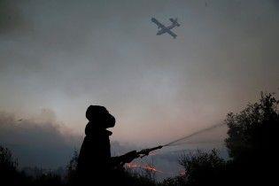 Украинские самолеты начали тушить лесные пожары в Израиле