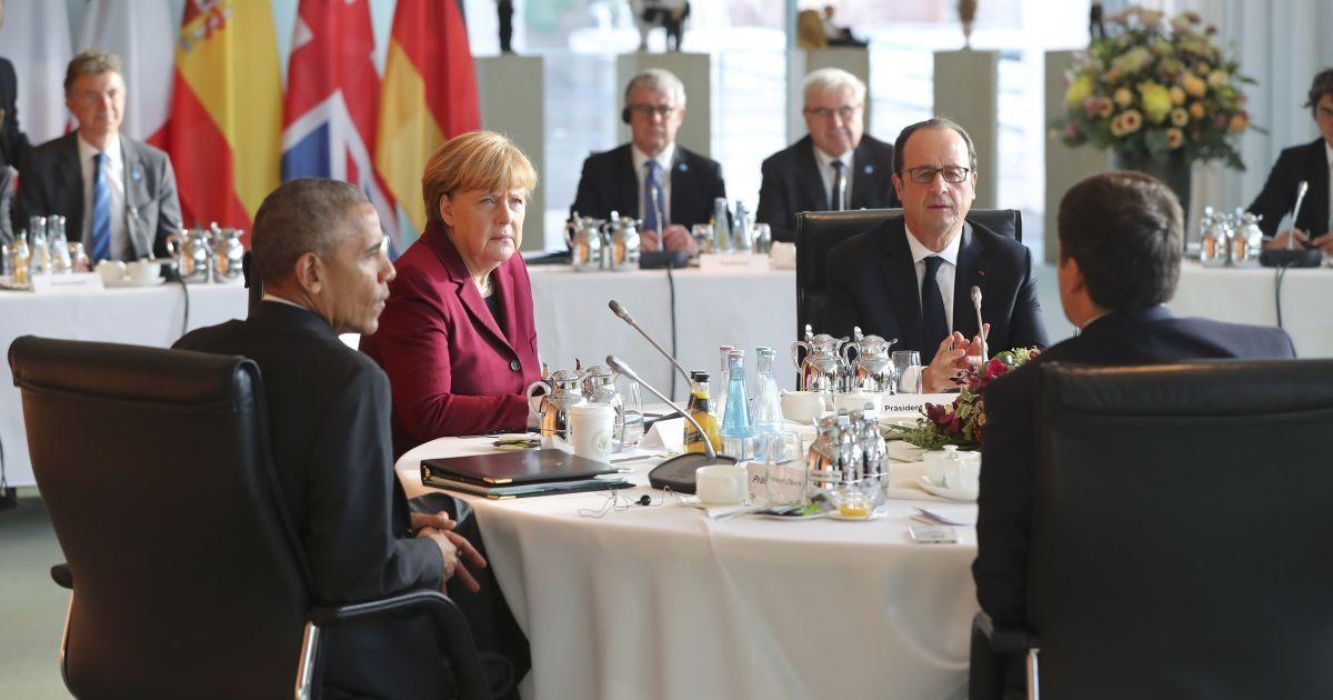 Обама договорился с лидерами ЕС о продлении санкций против РФ