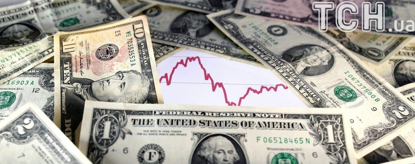 Долар і євро здорожчали в курсах валют Нацбанку на 28 листопада. Інфографіка