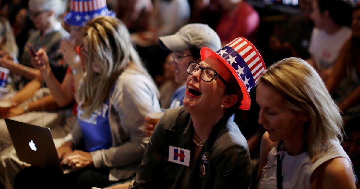 Реакція людей на результати виборів