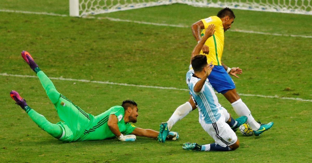 Бразилія - Аргентина - 3:0 @ Reuters