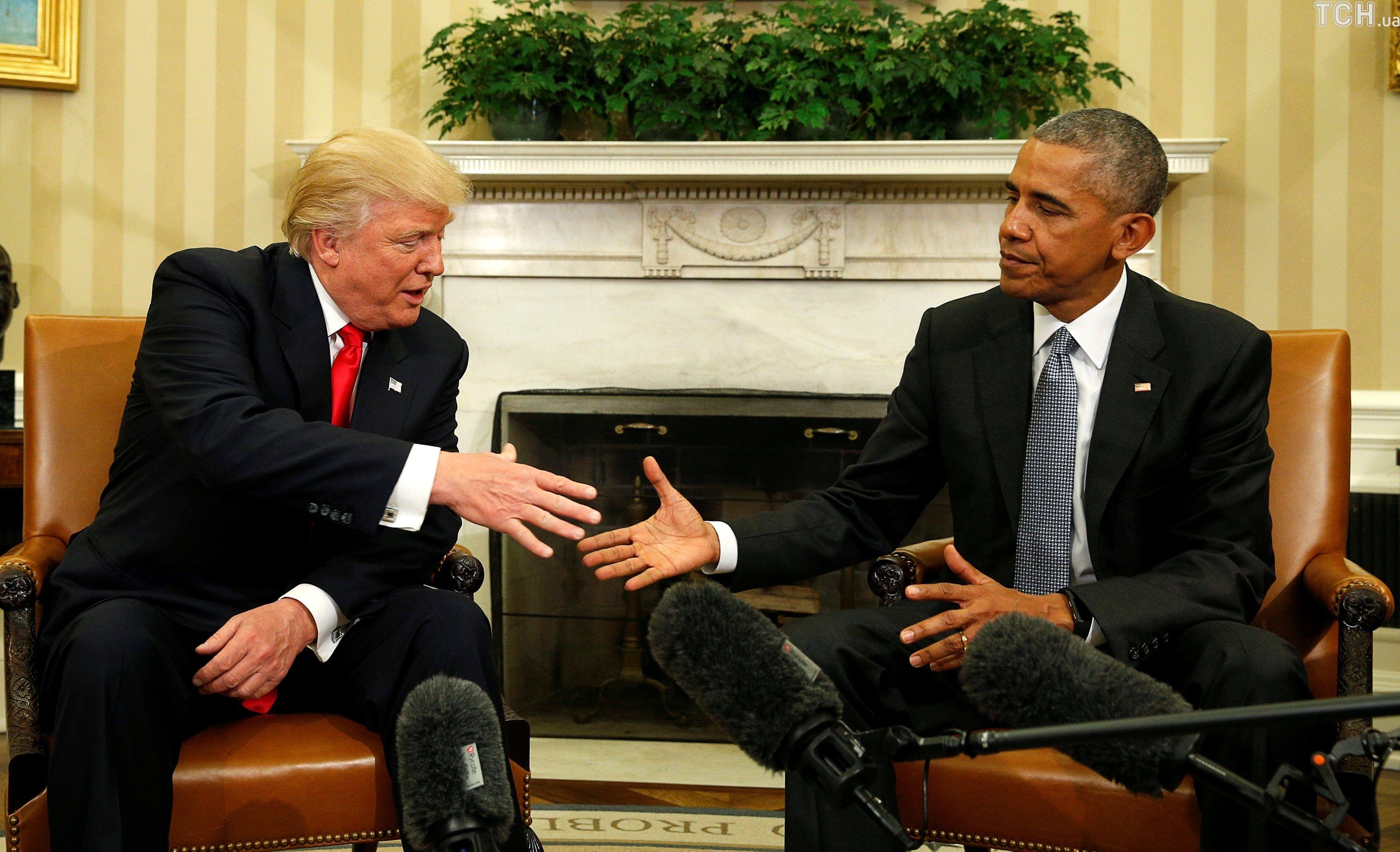 Трамп і Обама_1