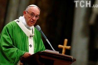 Папа Римский отслужил специальную мессу для заключенных в Ватикане