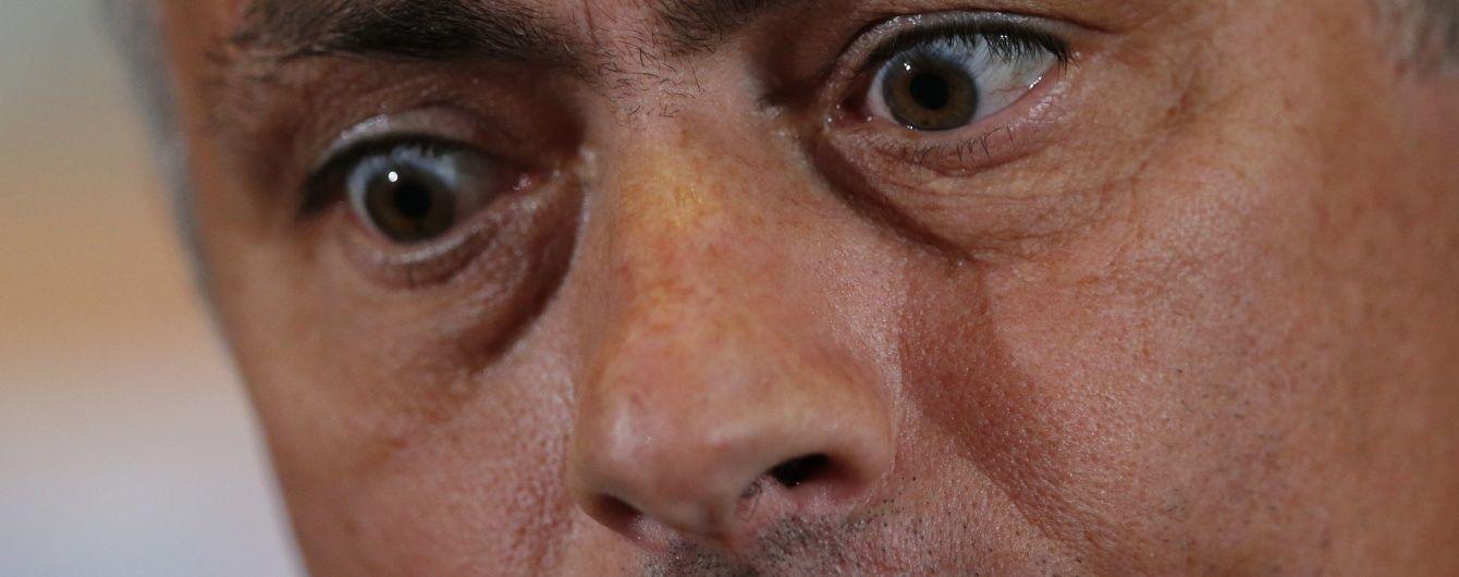 """Тренер """"Манчестер Юнайтед"""" Моурінью знову дискваліфікований на 1 матч"""