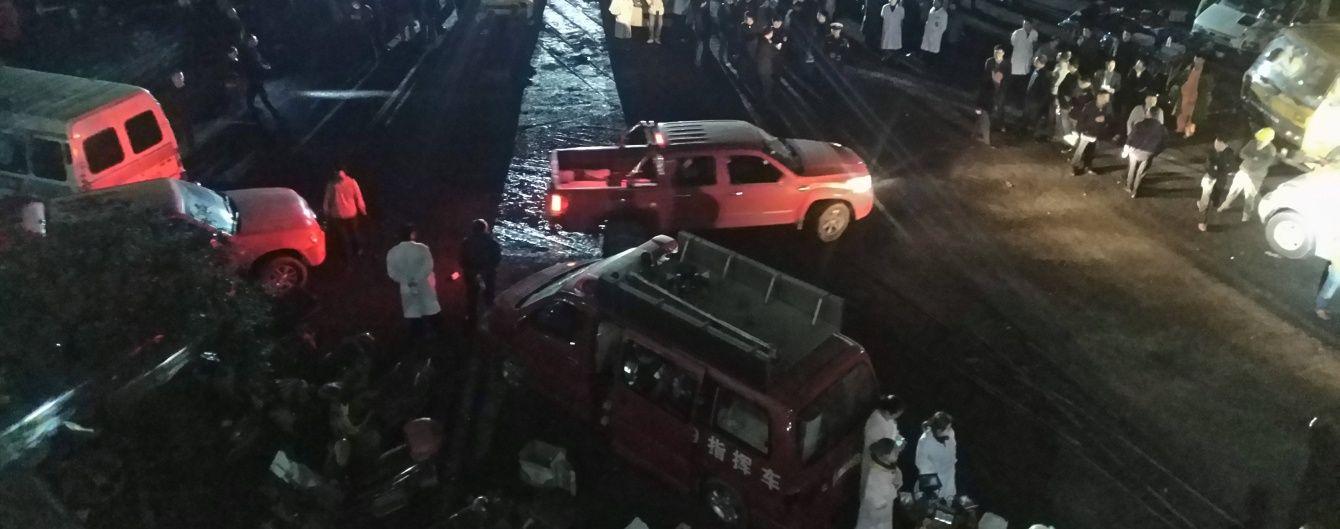На китайській шахті пролунав потужний вибух: більше десяти людей загинуло