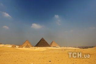 Астронавт показав, як виглядають піраміди Єгипту з космосу