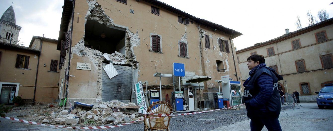 Италию потрясло еще одно землетрясение