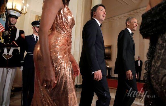 Мишель Обама на прощальном ужине в Белом доме_4
