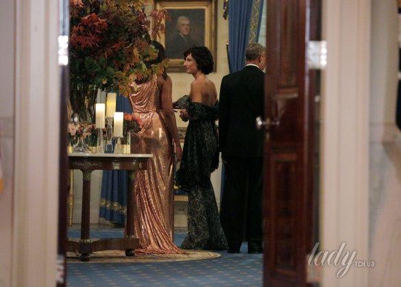 Мишель Обама на прощальном ужине в Белом доме_5