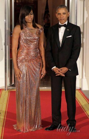 Мишель Обама на прощальном ужине в Белом доме_1