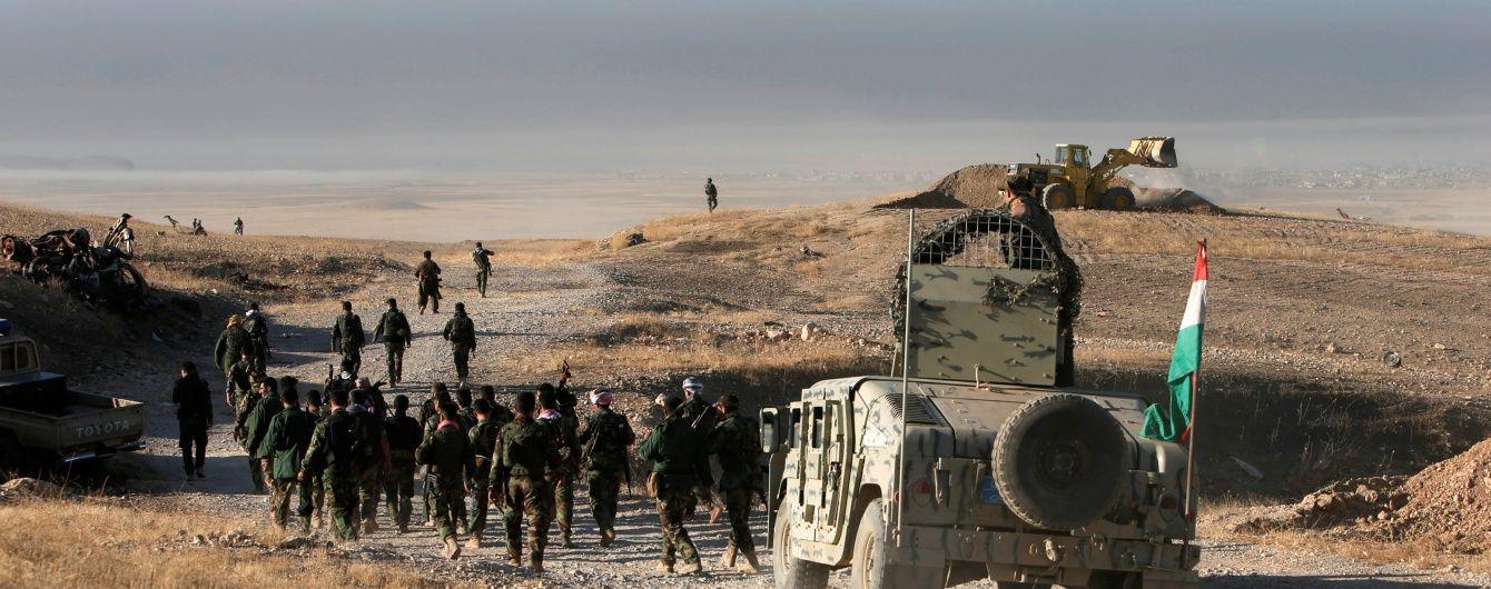 """З'явилися перші відео спецоперації зі звільнення іракського міста Мосул від бойовиків """"ІД"""""""