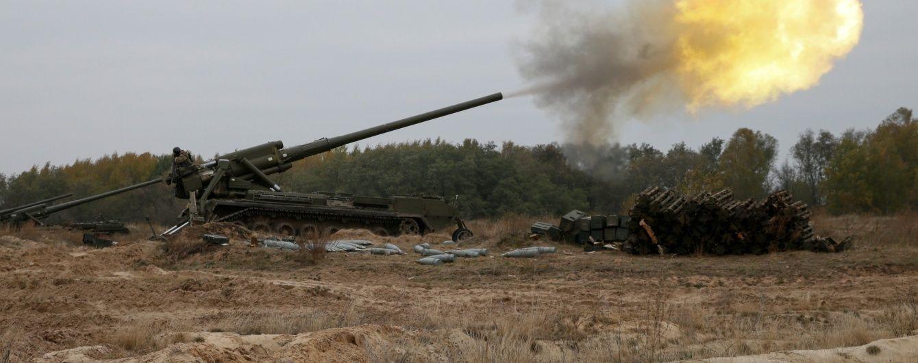 Бойовики застосували важке озброєння на всіх напрямках. Дайджест АТО