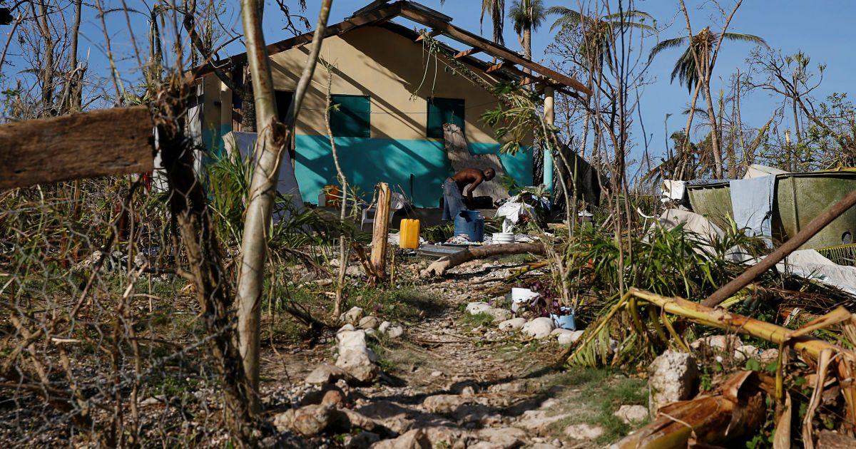 Наслідки урагану на Гаїті @ Reuters
