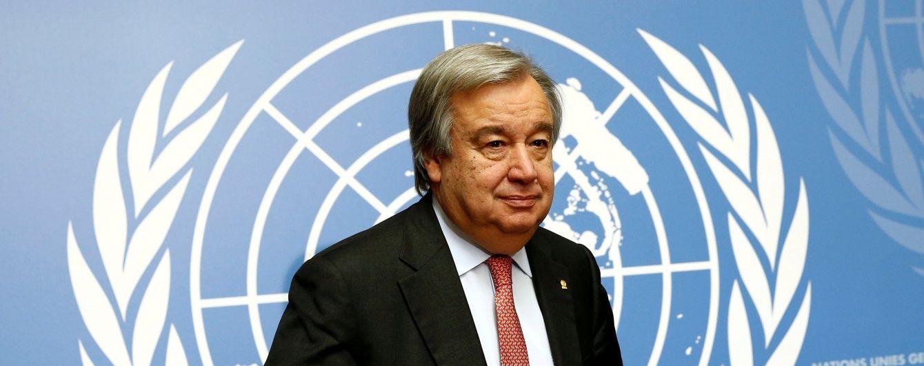 Генсек ООН призвал государства требовать ликвидации ядерного оружия