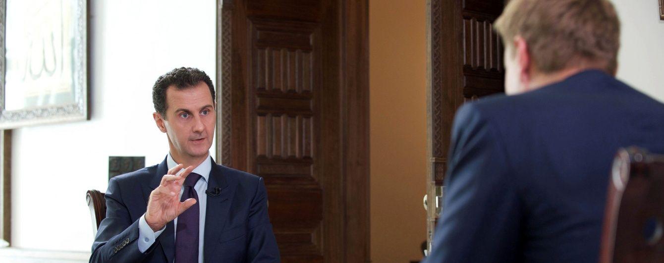 Асад вперше прокоментував авіаудар США по сирійській базі