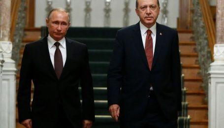Ердоган у розмові з Путіним назвав хіматаки злочином проти людства