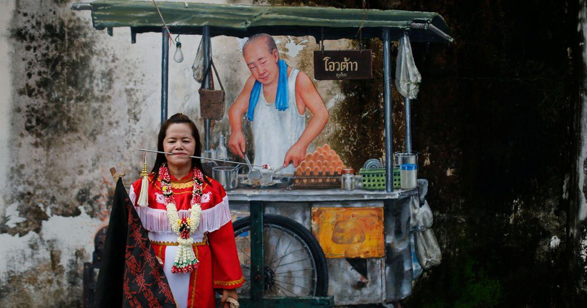 Фото фестивалю у Таїланді @ Reuters