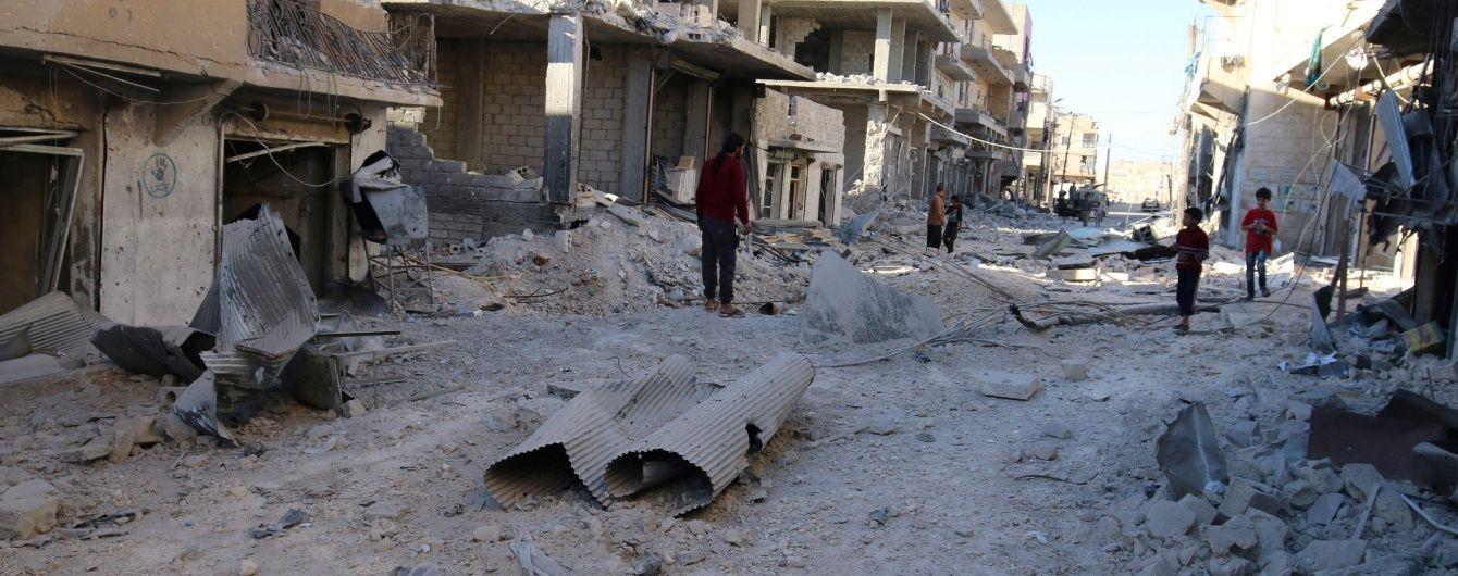 РФ продовжила заборону на бомбардування Алеппо з повітря