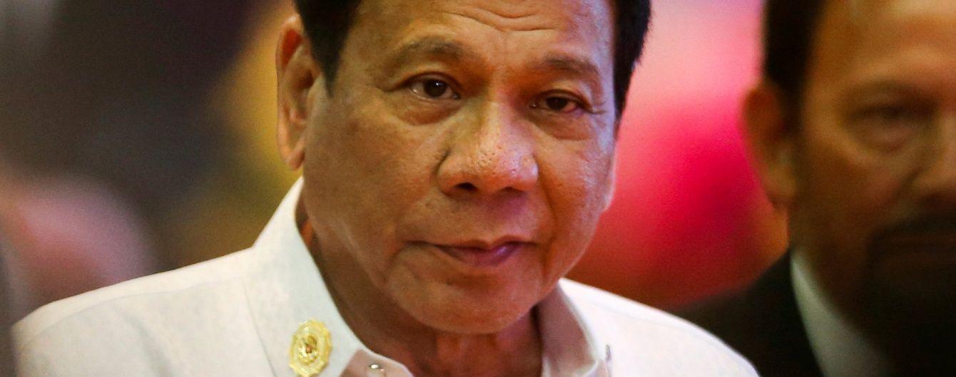 Влада Філіппін пояснила, чому скандальний президент порівняв себе із Гітлером