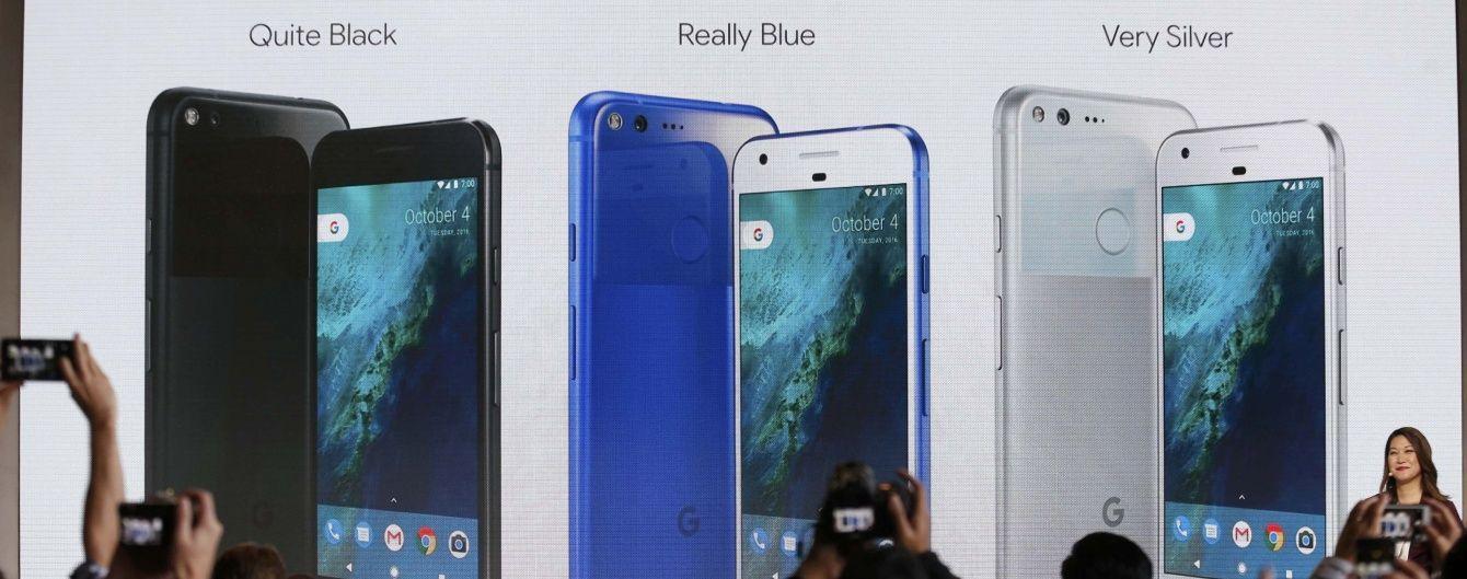 """""""Вбивця"""" iPhone 7. Google представила одразу два потужних смарфтона"""