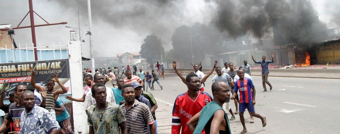 Кровавые столкновения в аэропорту Конго: погибло почти полсотни людей