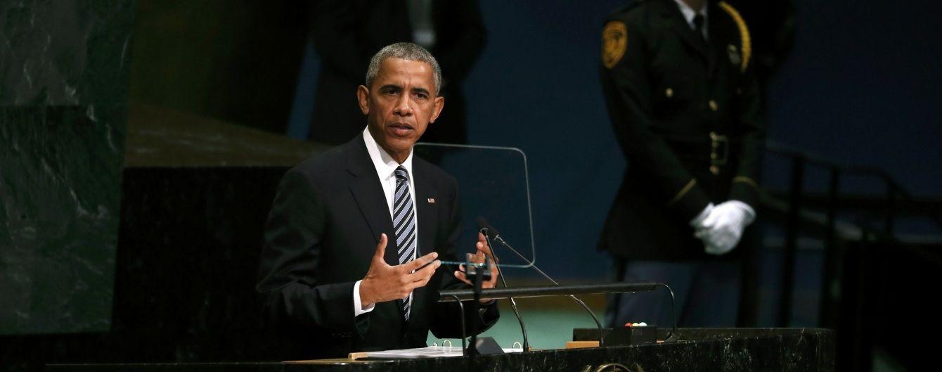 Обама збирає радників для обговорення дій США в Сирії – Reuters