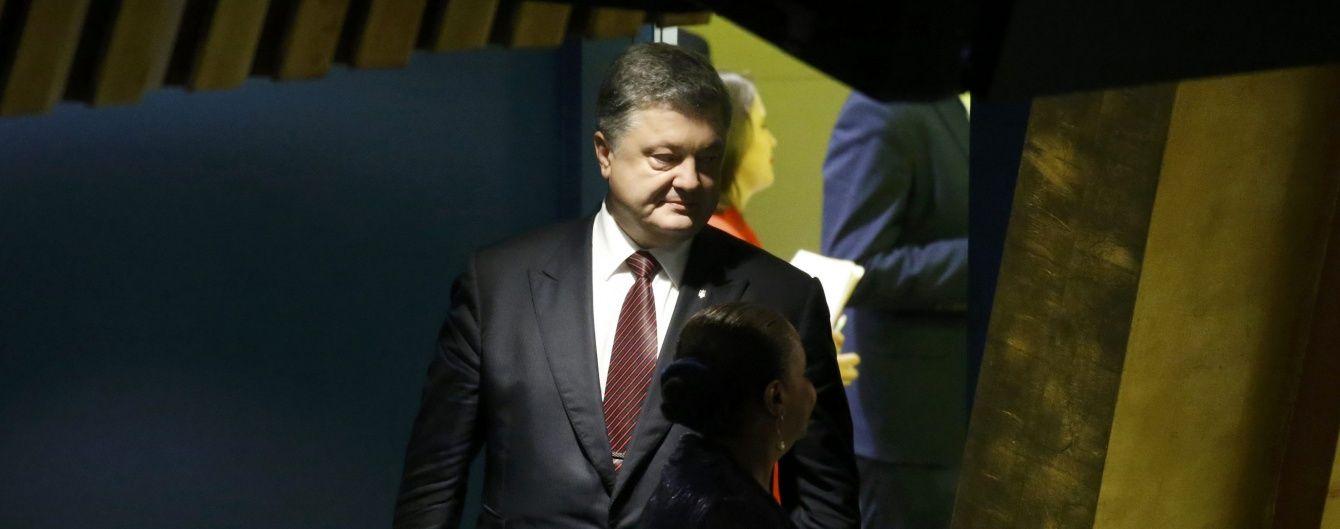 Порошенко розповів, скільки військових перебуває у незаконних збройних формуваннях на Донбасі
