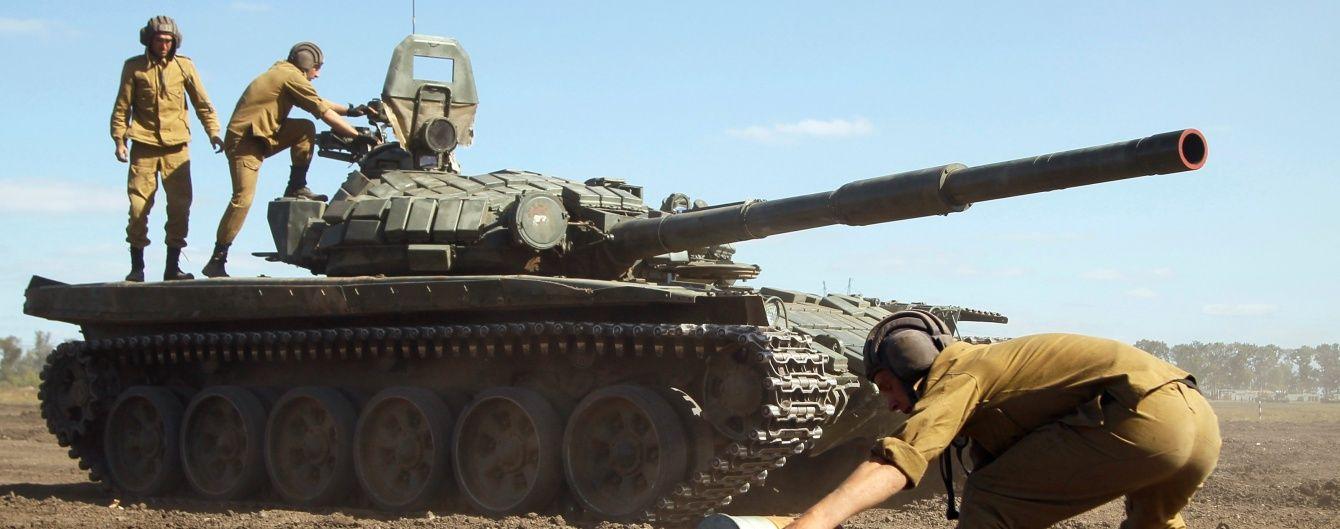 Бойовики в Саханці використали танк для обстрілу позицій ЗСУ