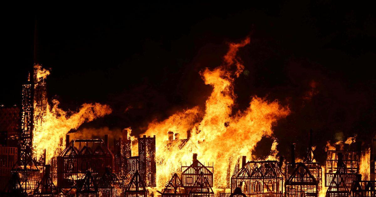 великий лондонский пожар картинка назначение кускова
