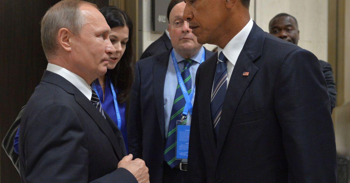Володимир Путін та Барак Обама @ Reuters