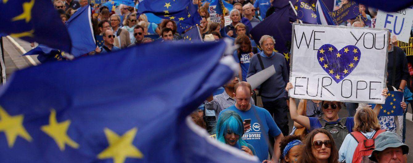 Почти 60% британцев проголосовали бы сейчас против выхода из Евросоюза - опрос