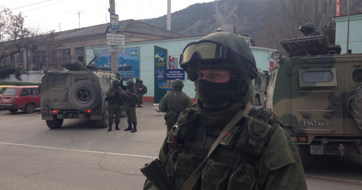 Як Росія захоплювала Крим. Мін'юст представив хронологію окупації