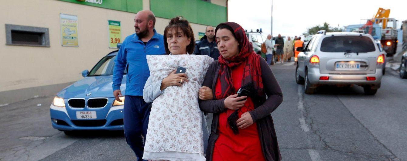 Нищівний землетрус в Італії не припиняється: повторні поштовхи зруйнували важливу дорогу