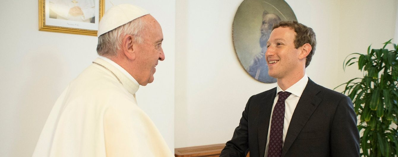 Папа Франциск дав аудієнцію Цукербергу