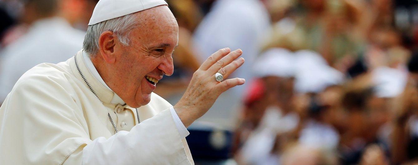 """Папа Римський прибув на """"святу землю"""" у Грузію"""