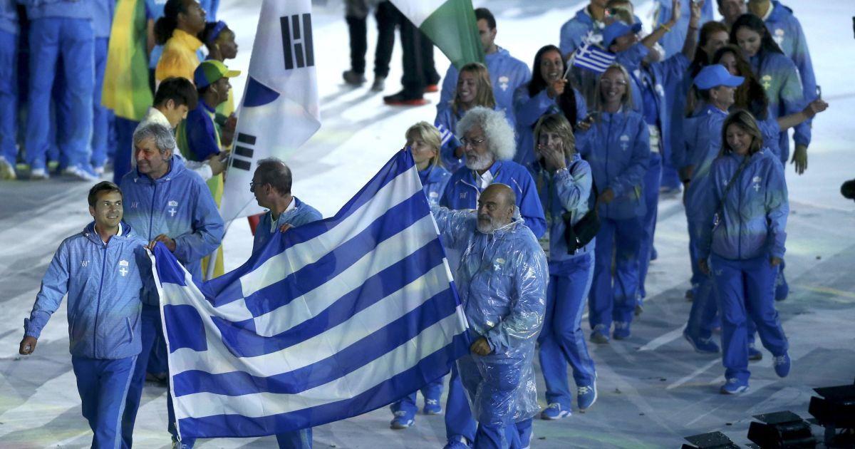 Грецькі спортмени @ Reuters